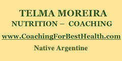 Telma Moreira - Nutrition & Coaching